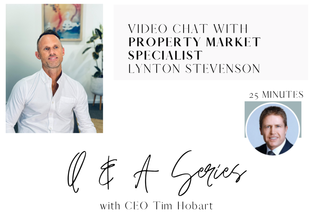 Q&A Series CXCFP - Lyton Stevenson current state of the property market