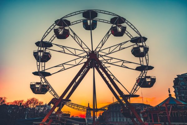 Ferris wheel - here we go again with the federal budget 2021 - 2022